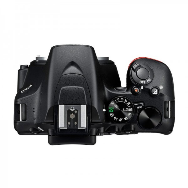 Nikon D3500 + Nikon 18-55mm + Funda + Libro (Garantía Nikon España)