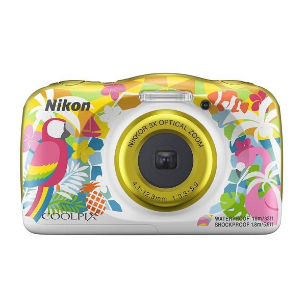 Nikon COOLPIX W150 Color Amarillo Vacacional (Gara...