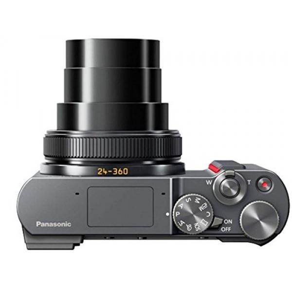 Panasonic DC-TZ200 Negro (Garantía Panasonic España)