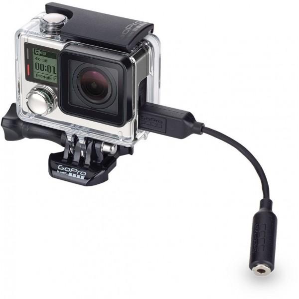 Accesorio GoPro Adaptador Microfono 3,5mm (Garantía España)