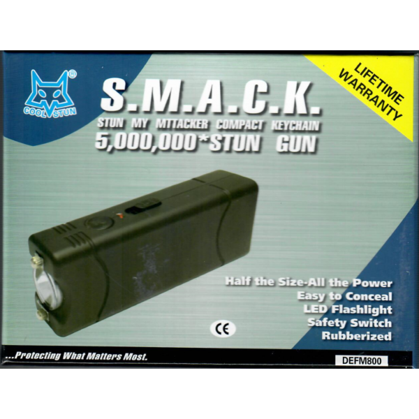 Defensa Electrica Street Wise 5.000.000V Recargable (Ref: DEFM800)