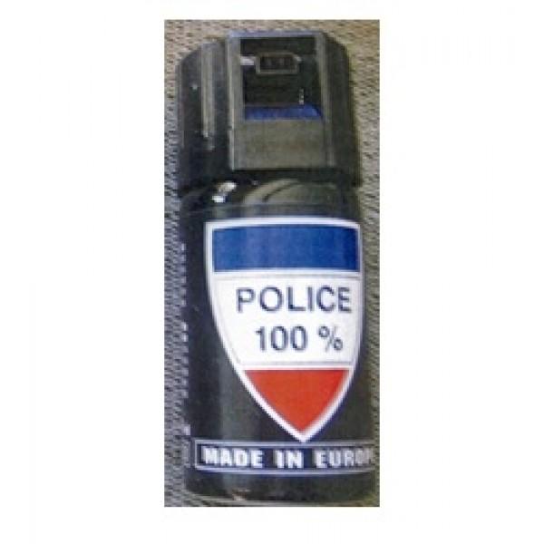 Defensa Personal Spray GAS POLICE 100% de 40ml