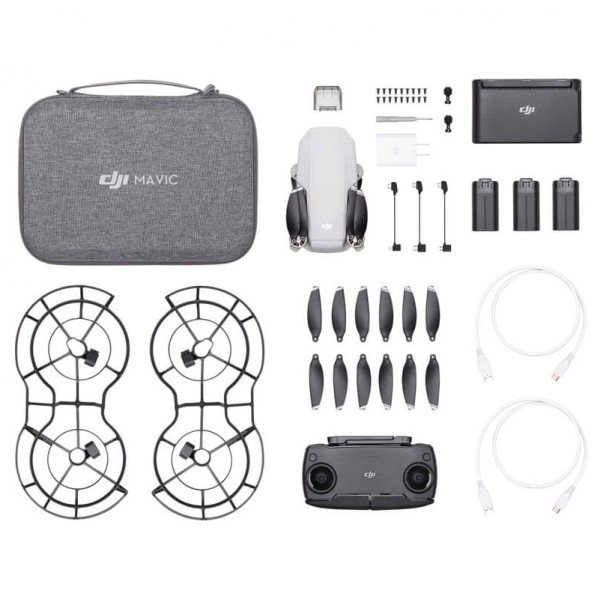 DJI Mavic Mini Fly More Combo + Cupón de 60€ de...