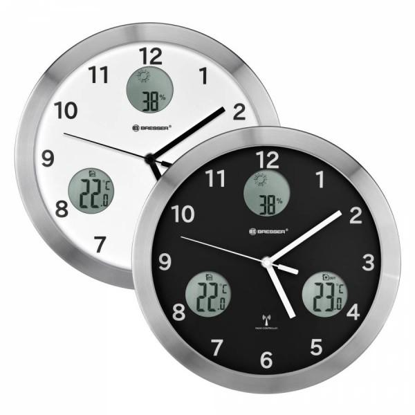 Bresser My Time y Reloj de Pared Negro Ref: 8020210CM
