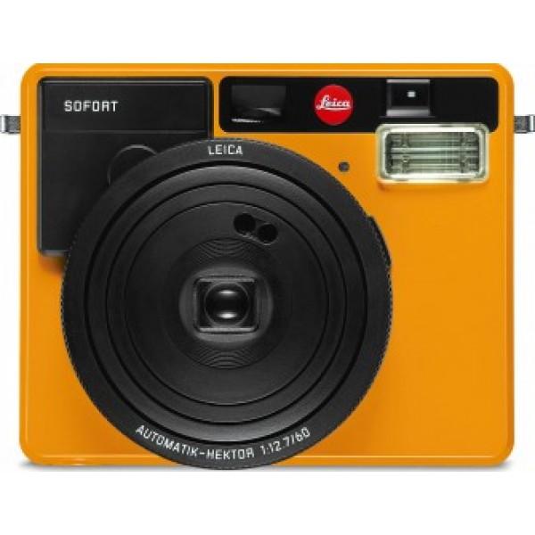 Cámara Leica Sofort cámara instantánea, Naranja...