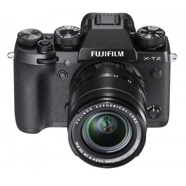 Cámara Fujifilm X-T2+Fujinon XF 18-55mm f/2.8-4 R...