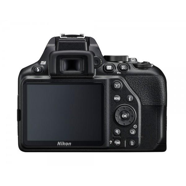 Nikon D3500 + 18-55mm VR + 70-300mm VR + Funda + Libro (Garantía Nikon España Finicon)