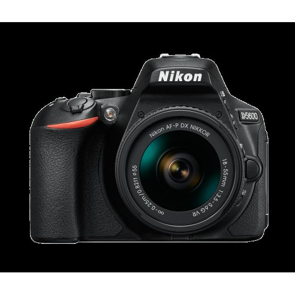 Cámara Nikon D5600 + Nikon AF-P 18-55mm f/3.5-5.6...