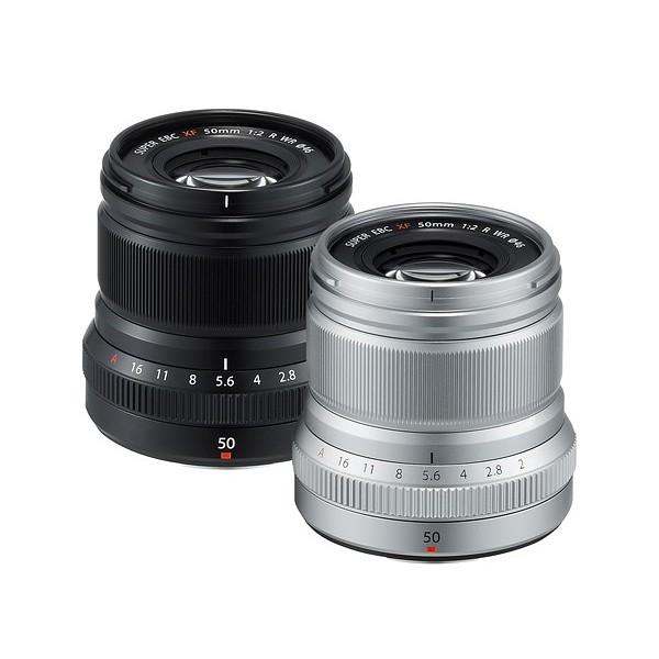 Objetivo Fujinon XF 50mm f/2.0 R WR (Garantía Fujifilm España)