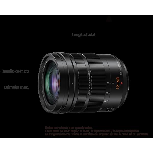 Objetivo Panasonic LUMIX G 12mm f/1.4ASPH Ref: H-X012E (Garantía Panasonic España)
