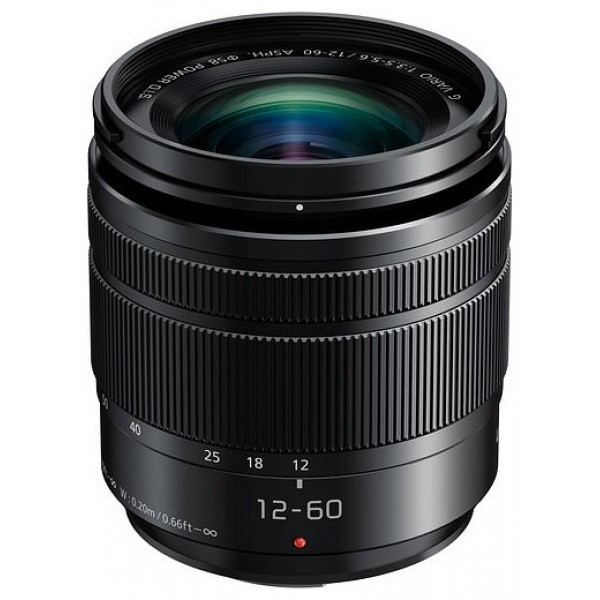 Objetivo Panasonic 12-60mm f/3.5-5.6 SPH Power O.I...