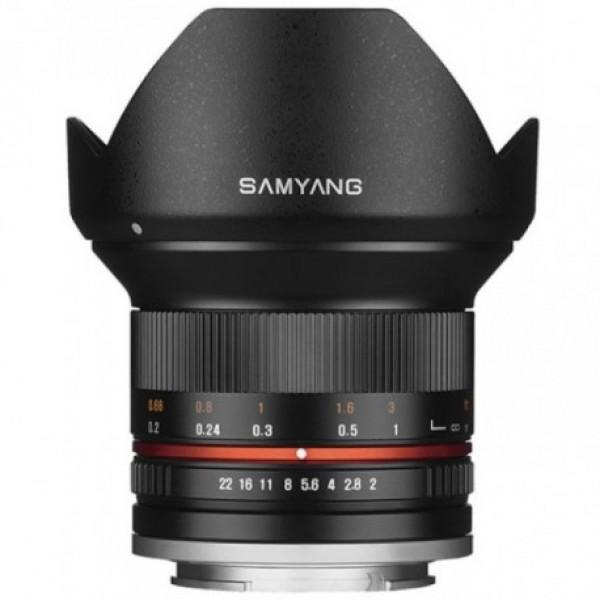 Samyang 12mm f/2.0 NCS CS Micro 4/3 Negro Ref: SAM...