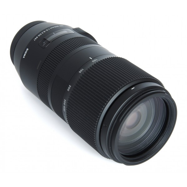 Objetivo Sigma 100‑400mm F5‑6.3 DG OS HSM Contemporary Montura Canon (En Stock)
