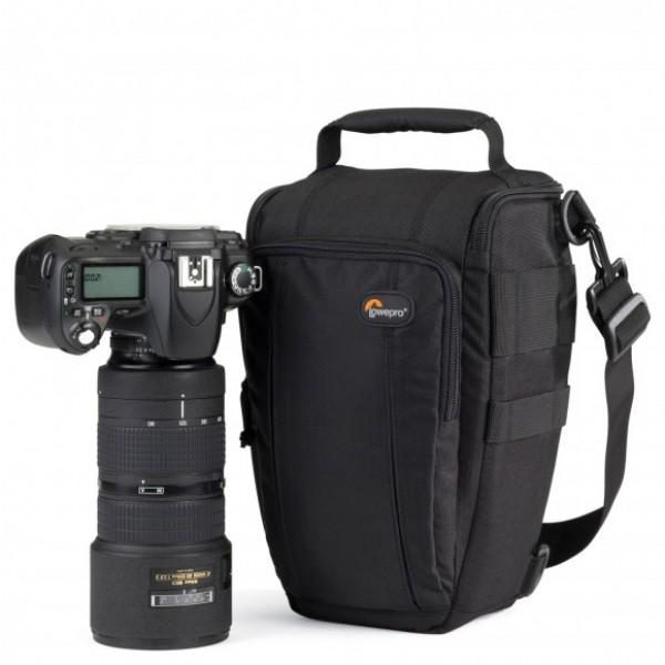 Lowepro Toploader Zoom 55 AW II Color Negro