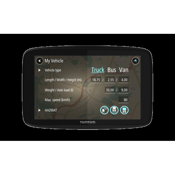 GPS Tomtom GO 520 PROFESIONAL Europa 45 Paises (Ga...