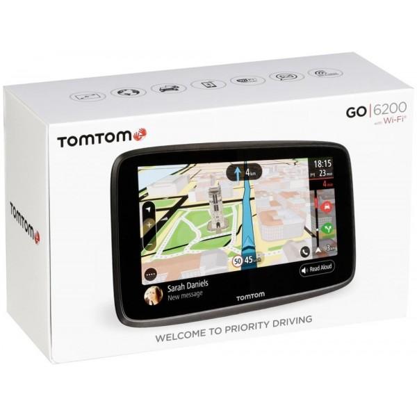 GPS TOMTOM GO 6200 PROFESIONAL Europa 45 Paises (Garantía Tomtom Españña)
