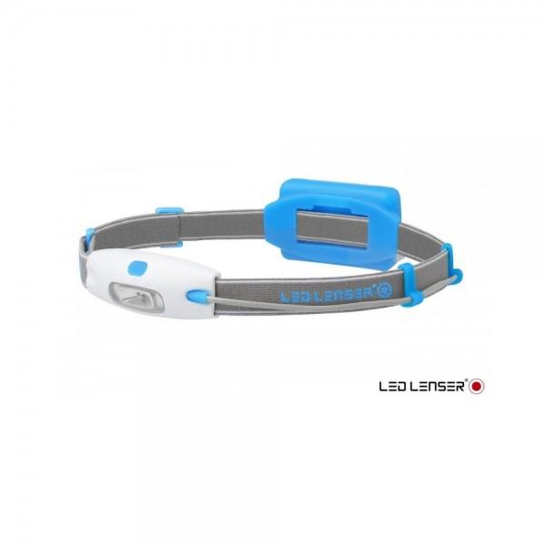 Linterna Led Lenser Neo Frontal Led 90 Lumens Azul...