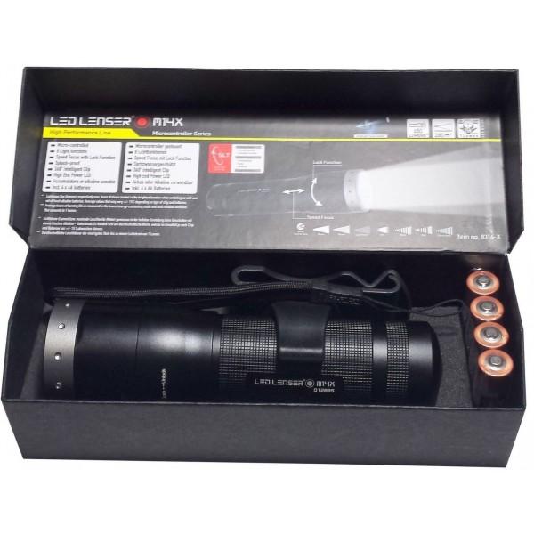 Linterna Led Lenser M14X-8314X - 650 Lumens