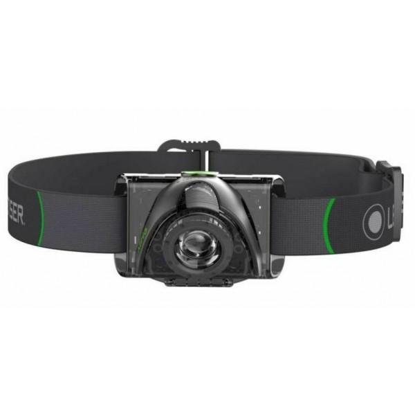 Linterna Led Lenser MH6 Frontal LED 200 Lumens (Ga...