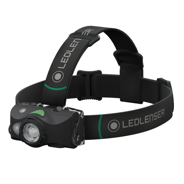 Linterna Led Lenser MH8 Frontal Led 600 Lumens (Ga...