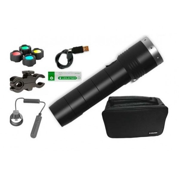 Linterna Led Lenser MT14 KIT CAZA - 1000 Lumens (A...