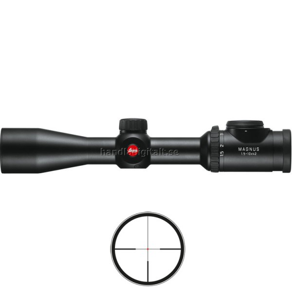 Mira Telescópica Leica Magnus en 1.5-10x42 Prism�...