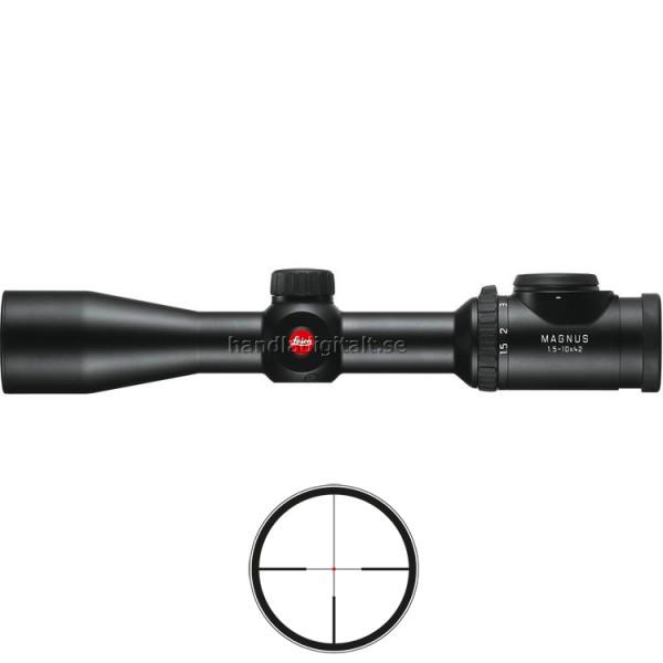 Mira Telescópica Leica Magnus en riel BDC ilumina...