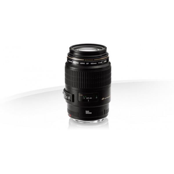 Objetivo Canon EF 100mm f/2.8 Macro USM (Garantia ...