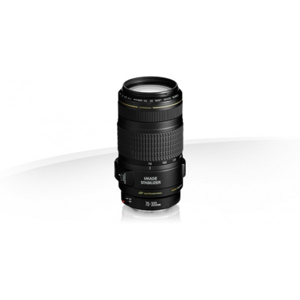 Objetivo Canon EF 70-300mm f/4-5.6 IS USM (Garanti...