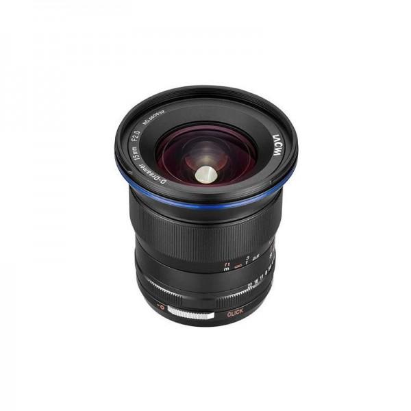 Objetivo Laowa 15mm f/2 Zero-D Sony FE Ref: VE1520SFE Garantía Española