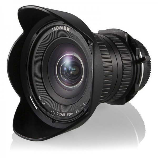 Objetivo Laowa 15mm F4 Wide Angle Macro Sony FE Re...