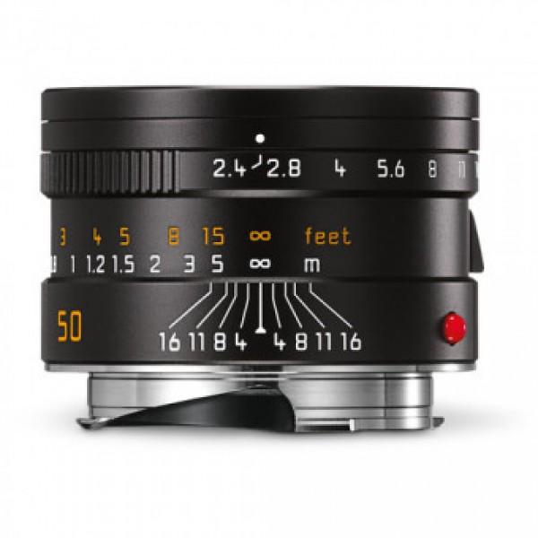 Objetivo Leica Summarit-M 50/2.4 NEGRO Ref: 11680