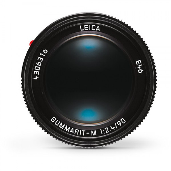 Objetivo Leica Summarit-M 90 mm f / 2.4 lente (negro)  Ref: 11684