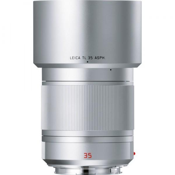 Objetivo Leica Summilux-TL de 35 mm f / 1.4 ASPH lente (plata anodizado) Ref: 11085