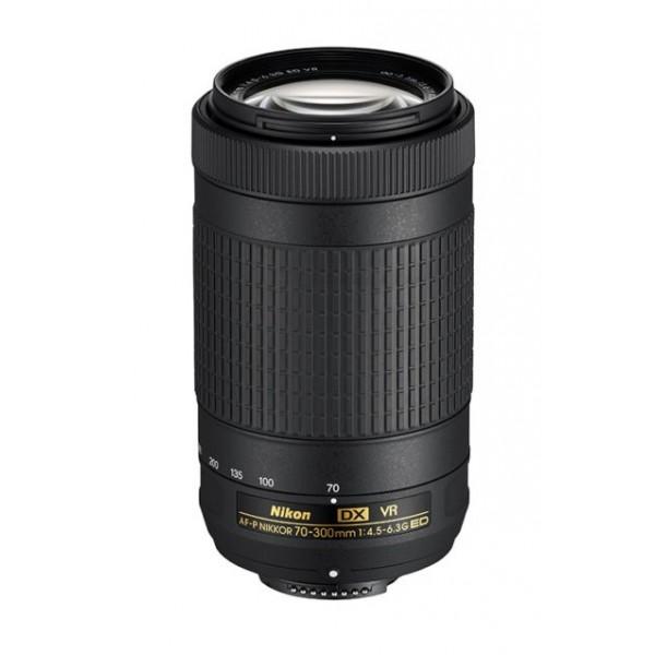 Objetivo Nikon AF-P 70-300mm F/4.5-6.3G ED DX VR (Garantía Nikon España Finicon)