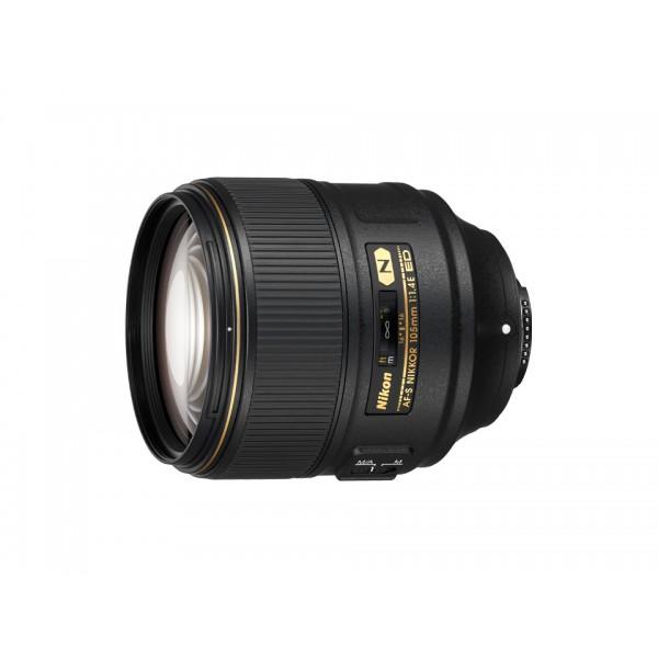 Objetivo Nikon AF-S 105mm F/1.4E ED (Garantía Nikon España Finicon)
