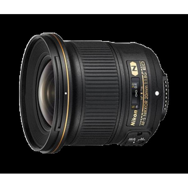 Objetivo Nikon AF-S 20mm f/1.8G ED (Garantía Niko...