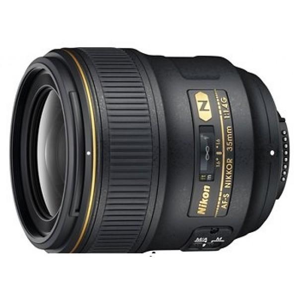 Objetivo Nikon AF-S 35mm F1.4G (Garantía  Nikon España Finicon)