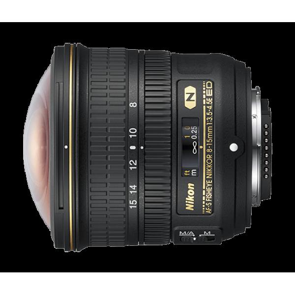 Objetivo Nikon AF-S FISHEYE NIKKOR 8-15mm f/3.5-4.5E ED