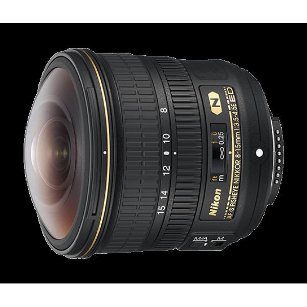 Objetivo Nikon AF-S FISHEYE NIKKOR 8-15mm f/3.5-4....