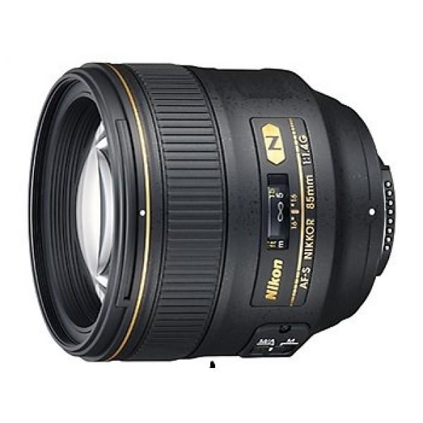 Objetivo Nikon AF-S 85mm f/1.4G (Garantía  Nikon ...