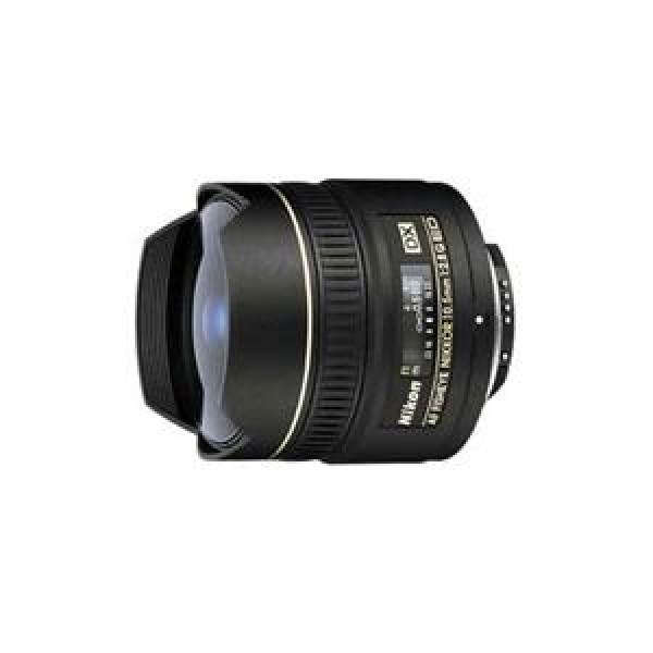 Objetivo Nikon AF 10.5mm f/2.8 G DX EG (Garantía ...