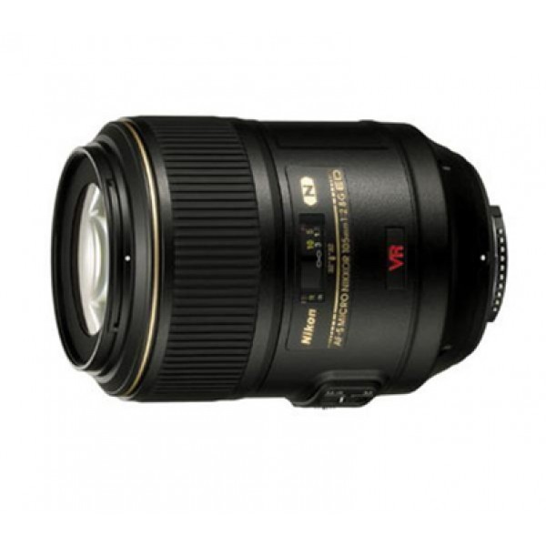 Objetivo Nikon AF-S 105mm f/2.8G IF-ED VR (Garant�...