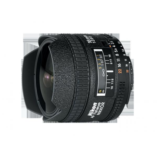 Objetivo Nikon AF Fisheye 16mm f/2.8D (Garantía N...