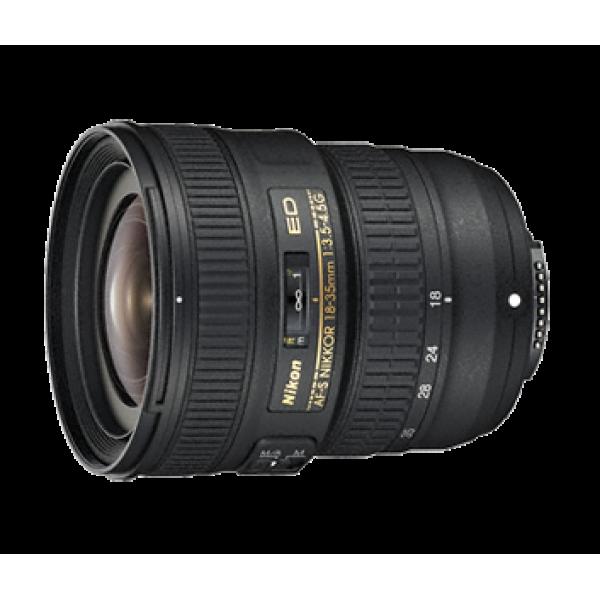 Objetivo Nikon AF-S 18–35mm f/3.5–4.5G ED (Garantía Nikon España Finicon)