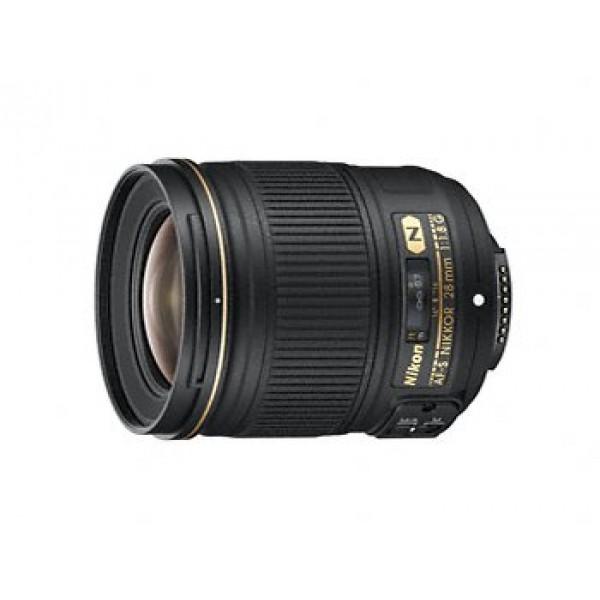 Objetivo Nikon AF-S 28mm f/1,8 G (Garantía  Nikon España Finicon)