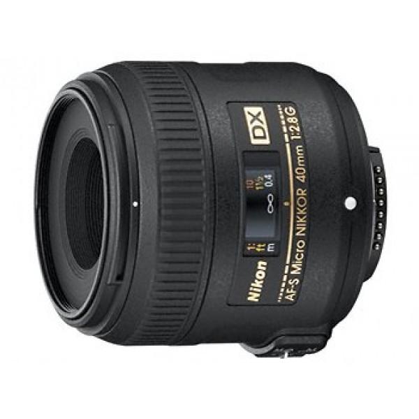 Objetivo Nikon AF-S 40mm f/2,8G DX Micro (Garantí...