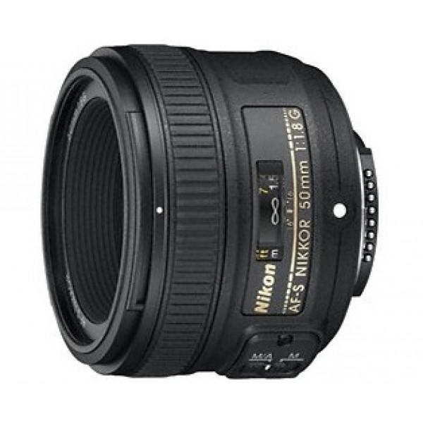 Objetivo Nikon AF-S 50mm f/1.8G (Garantía  Nikon ...