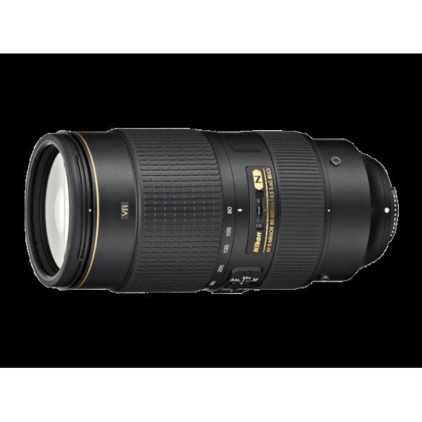Objetivo Nikon AF-S 80–400mm f/4.5-5.6G ED VR (G...
