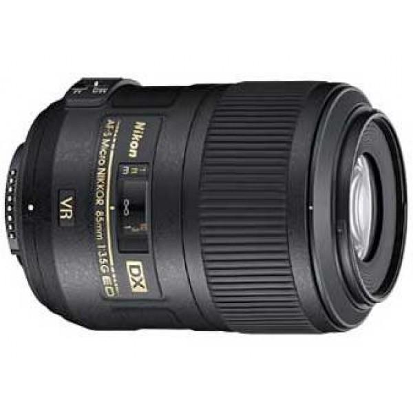 Objetivo Nikon AF-S 85mm f/3.5G ED VR DX Macro (Ga...